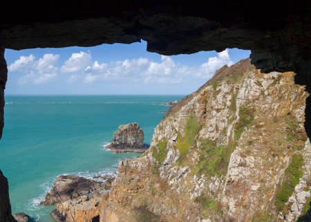 sark: Window in the rock on sark