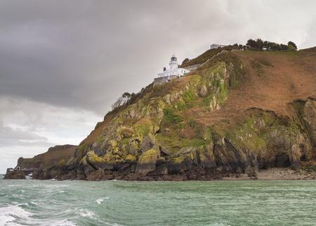 sark: Coastal scene on Sark Lighthouse
