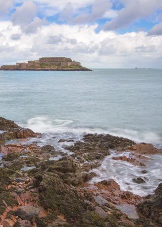 guernsey: Saint Peter Port in Guernsey.