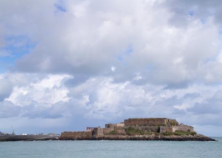 guernsey: castle cornet in Saint Peter Port ,  Guernsey.