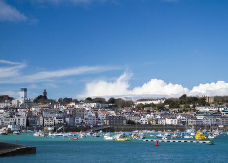 Saint Peter Port in Guernsey.