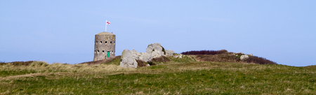 loophole: loophole towers at various points along the coast of Guernsey Editorial