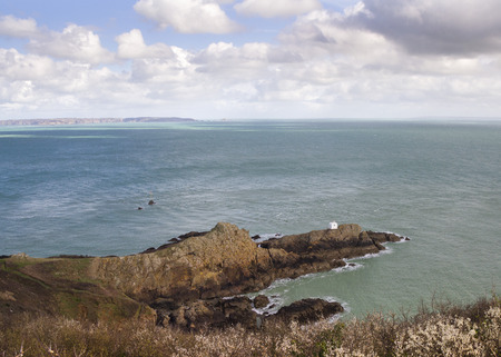guernsey: View from Jerbourg Point on Guernsey