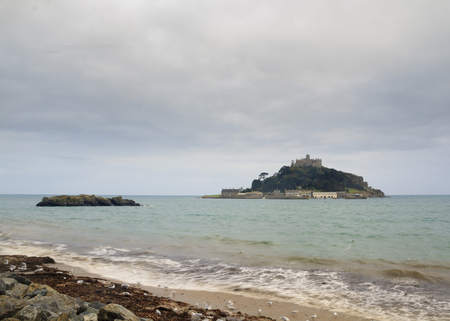 St Michaels Mount in Cornwall, UK photo