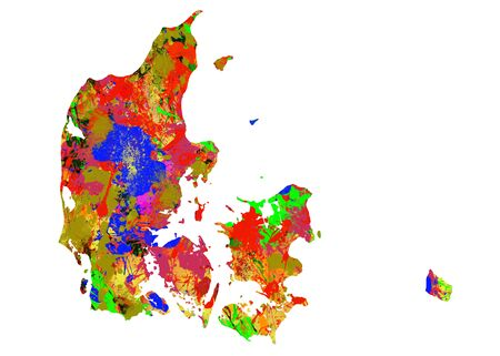 viewpoint: Watercolor Map of  Denmark