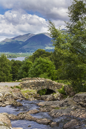 borrowdale: Ashness Bridge in the English Lake District