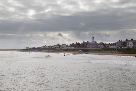southwold: A view from Southwold pier  Stock Photo