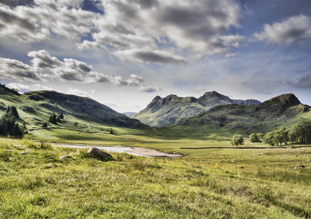 cumbria: blea tarn in the lake district cumbria UK Stock Photo