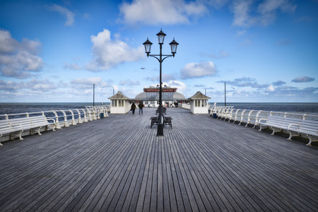 Cromer Pier, The Victorian pier at Cromer in Norfolk, built circa 1901