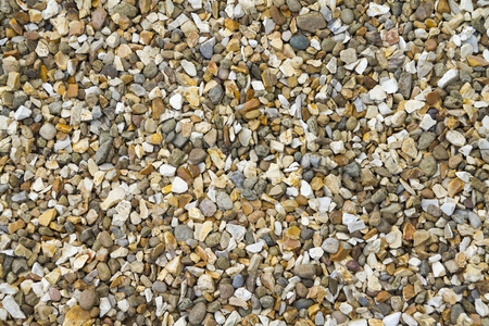 textured effect: gravel  close-up Textured Effect background Stock Photo