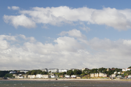 slipway: Filey seaside resort north yorkshire UK