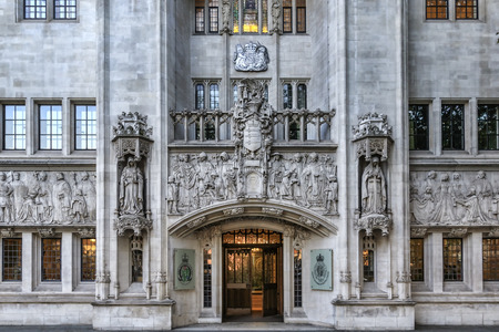 judicature: LONDON, UNITED KINGDOM - 2nd october, 2015:  Building of Judicial Committee of the Privy Council. The Judicial Committee of the Privy Council is one of the highest courts in the United Kingdom