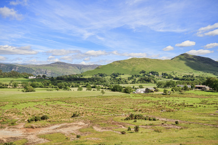 cumbria: The picturesque lake District in Cumbria England