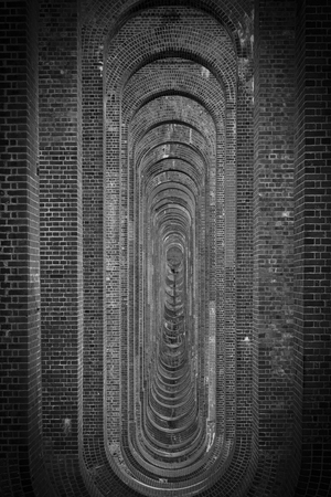 weald: Balcombe Victorian Viaduct. Also known as Ouse Valley Viaduct Stock Photo