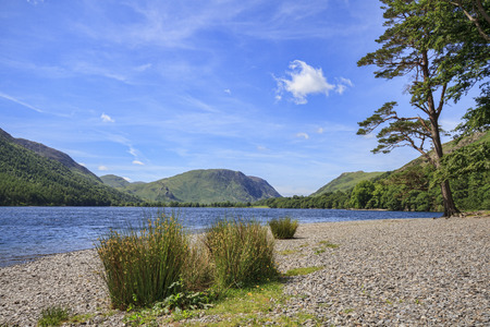 cumbria: Buttermere in the Lake District Cumbria England