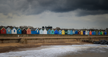 southwold: SOUTHWOLD, beach huts in SUFFOLKUK