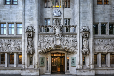 LONDON, UNITED KINGDOM - 2nd october, 2015:  Building of Judicial Committee of the Privy Council. The Judicial Committee of the Privy Council is one of the highest courts in the United Kingdom