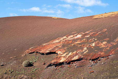 A view of Timanfaya National Park, Lanzarote