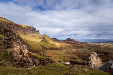The Quiraing Isle of Skye, Scotland, UK