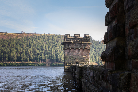 Derwent reservoir in derbyshire UK