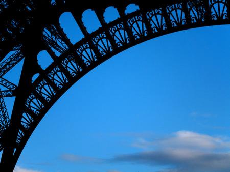 d'eiffel: Eiffel Tower Silhouette