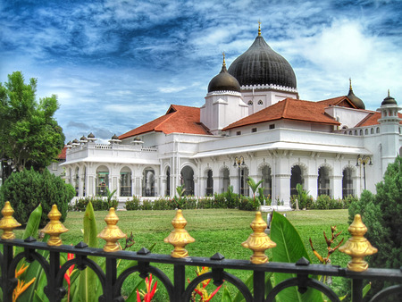 Kapitan Kling Mosque in Georgetown, Penang, a UNESCO World Heritage Site
