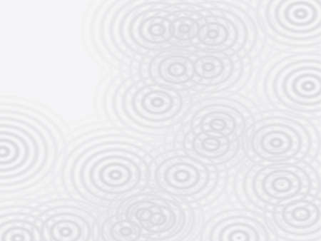 raindrops: Water Circles in gray on a llight colored background
