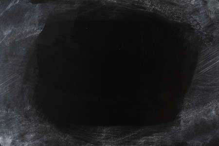 chalk dust covered partially cleaned blackboard background