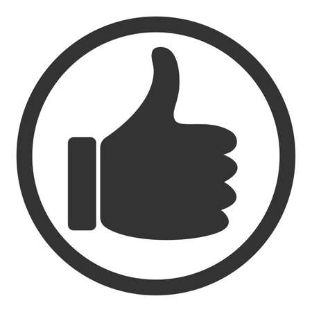 thumbs up symbol or icon vector illustration