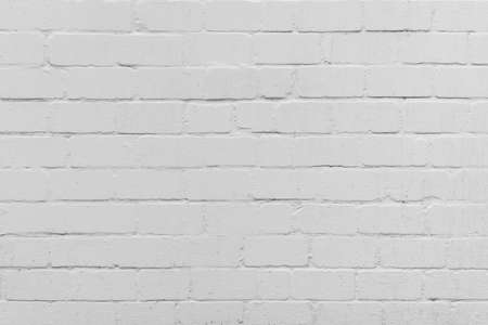 white painted brick wall full frame background