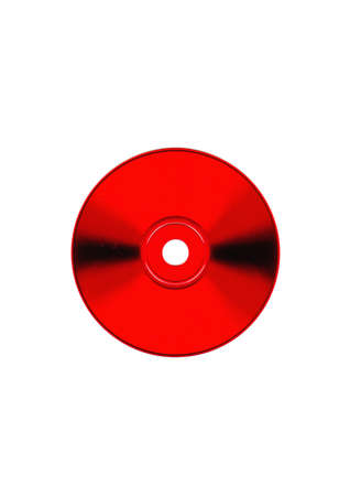 Red Disk Stock Photo - 13049007