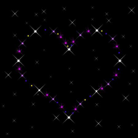 Constellation of Love Stock Photo - 17029417