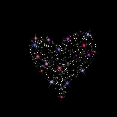 Constellation of love photo