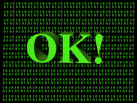 ok symbol: Simbolo OK  Archivio Fotografico