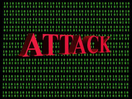 Hacker attack Zdjęcie Seryjne - 39845029