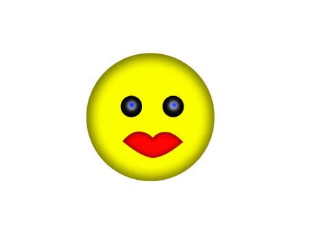 smile face: smile face Stock Photo