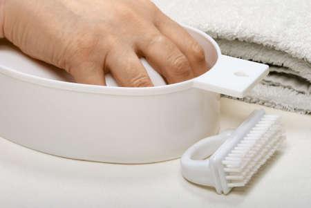 laquered: Manicure trattamento - immersione al largo della vecchia serie unghie