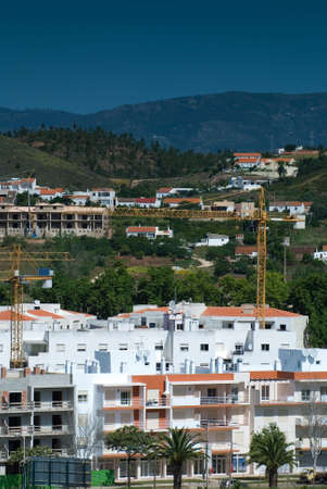 Construction of new holiday apartments in the Silves region of the Algarve, Portugal Stock Photo - 3017855