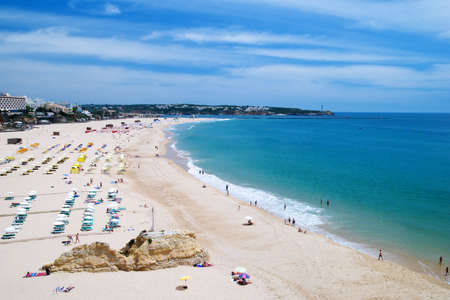 rocha: Praia Da Rocha beach, Algarve, Portugal Stock Photo