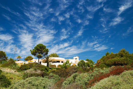Luxury property in the Iberian hills Stock Photo - 3087653