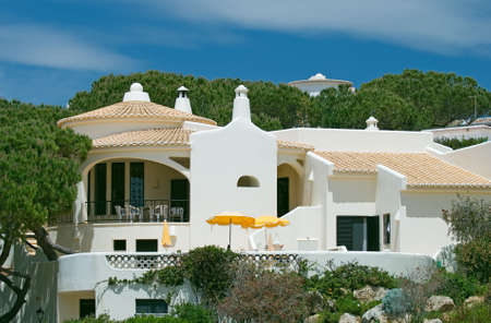 Luxurious holiday home on the Spanish coast Stock Photo - 3148717