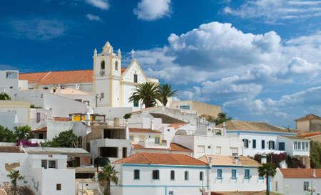 Old Portuguese village huddled on a hill, Algavre Stock Photo - 3844835