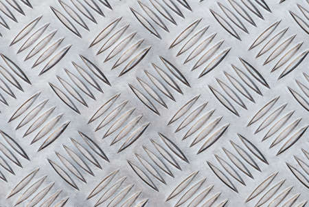checker: Aluminium checker plate background texture Stock Photo