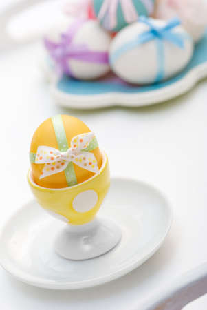 Traditional painted and decorated eggs for Easter Stock Photo - 4156367