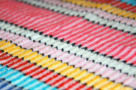 Afrikaanse stijl weefsel, close-up toont ingewikkelde details