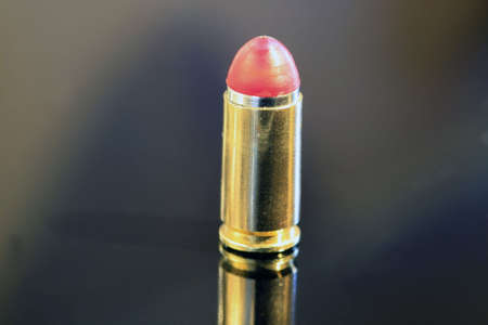 9mm Bullet Stock Photo