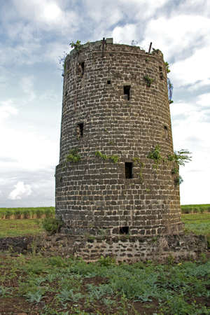 Derelict Fort in Mauritius, close to Flic en Flac