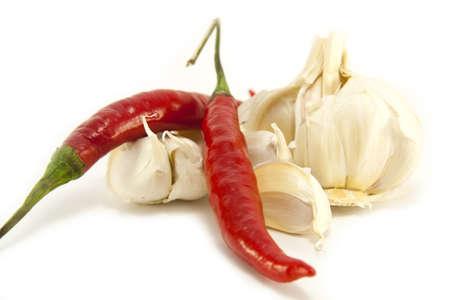 Chilli and Garlic Stock Photo - 7087437