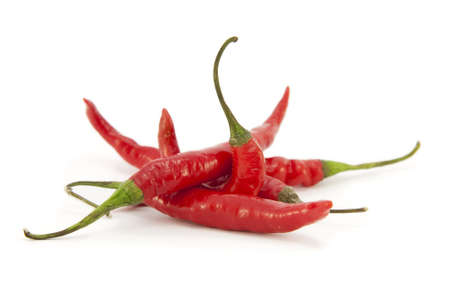 Red Chillies Stock Photo