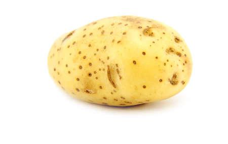 Potato isolated on a white background Stock Photo